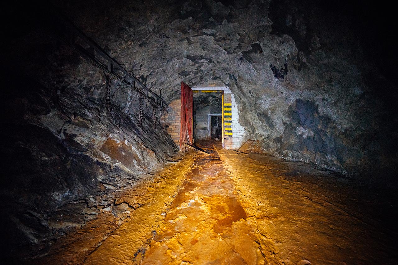 dolomitový důl velká chuchle