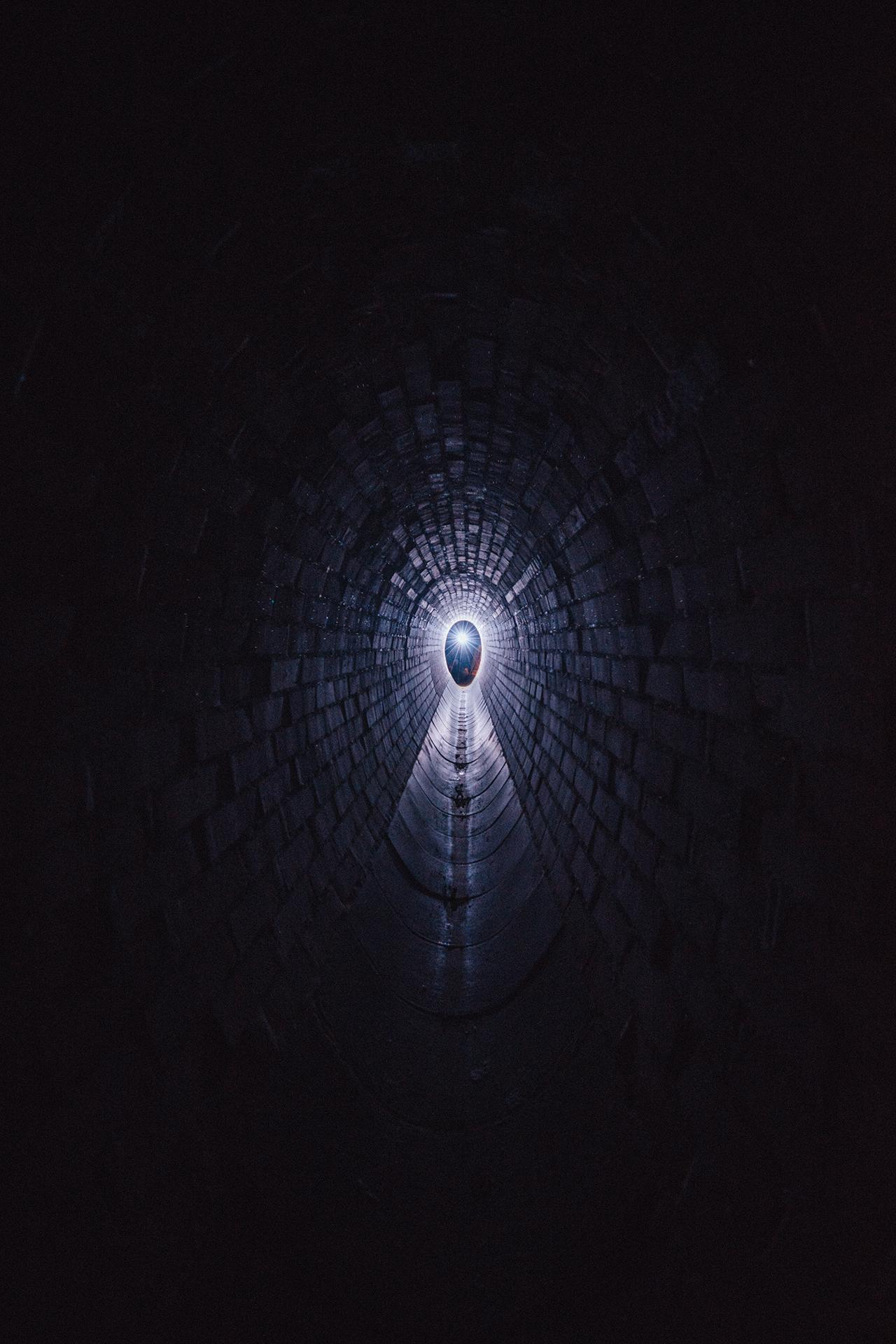 kanál, Barrandov, Praha, podzemí 1